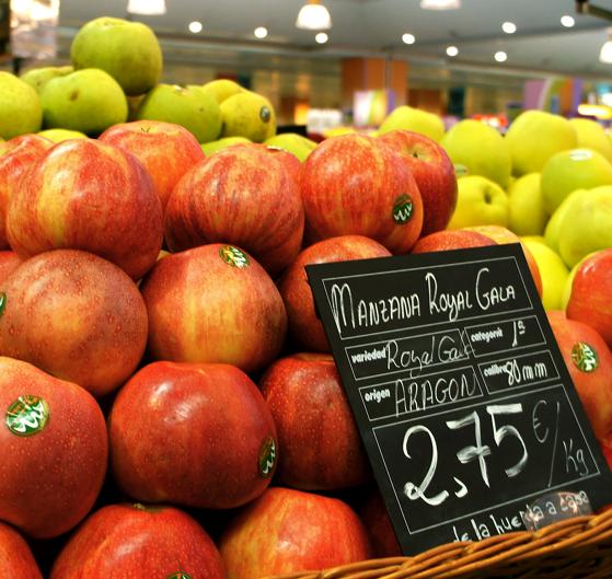 ottobre 2012, mele Royal Gala origine Spagna