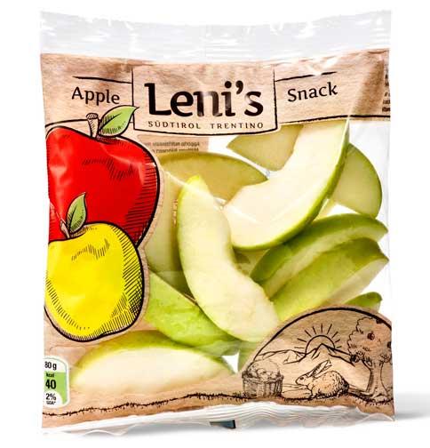 E' Leni's il nuovo marchio delle mele trasformate del Trentino Alto Adige
