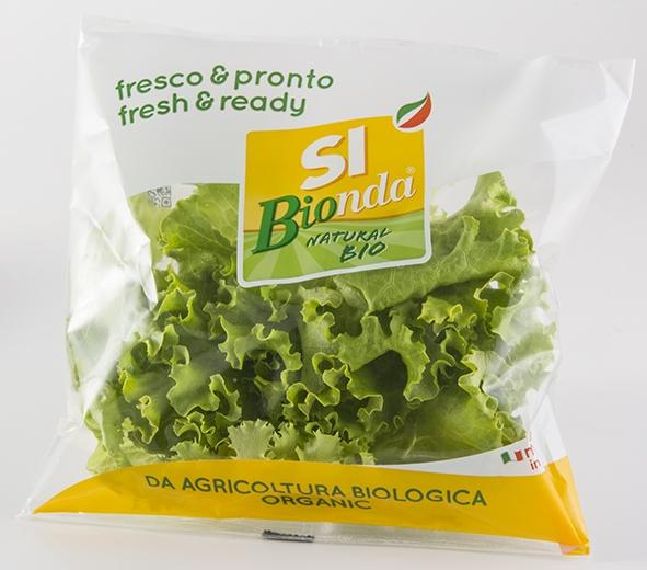 Sipo presenta la nuova linea biologica di insalate SI Bionda