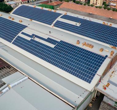 Entra in funzione il nuovo impianto fotovoltaico Apofruit di Altedo
