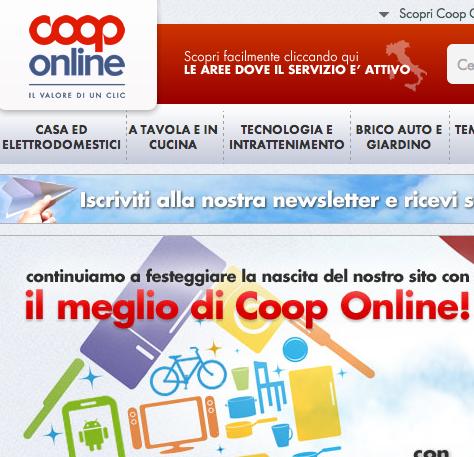 Anche la Coop sul Web. L'Italia e il business della spesa online