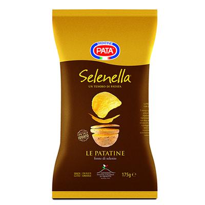 Collaborazione tra Selenella e Pata: nasce Chips Selenella