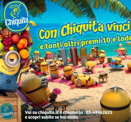 """Chiquita: 600 mila partecipazioni al concorso """"Vinci Bermuda"""""""