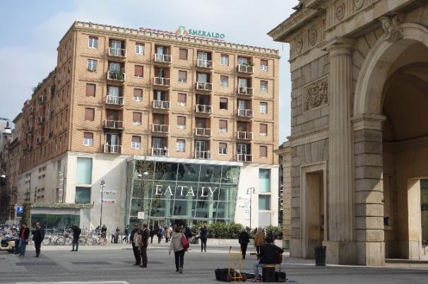 Quattro passi e foto al nuovo eataly milano smeraldo for Eataly milano piazza 25 aprile