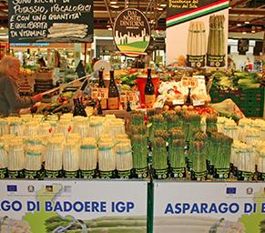 Asparago di Badoere, un successo la promozione all'Iper