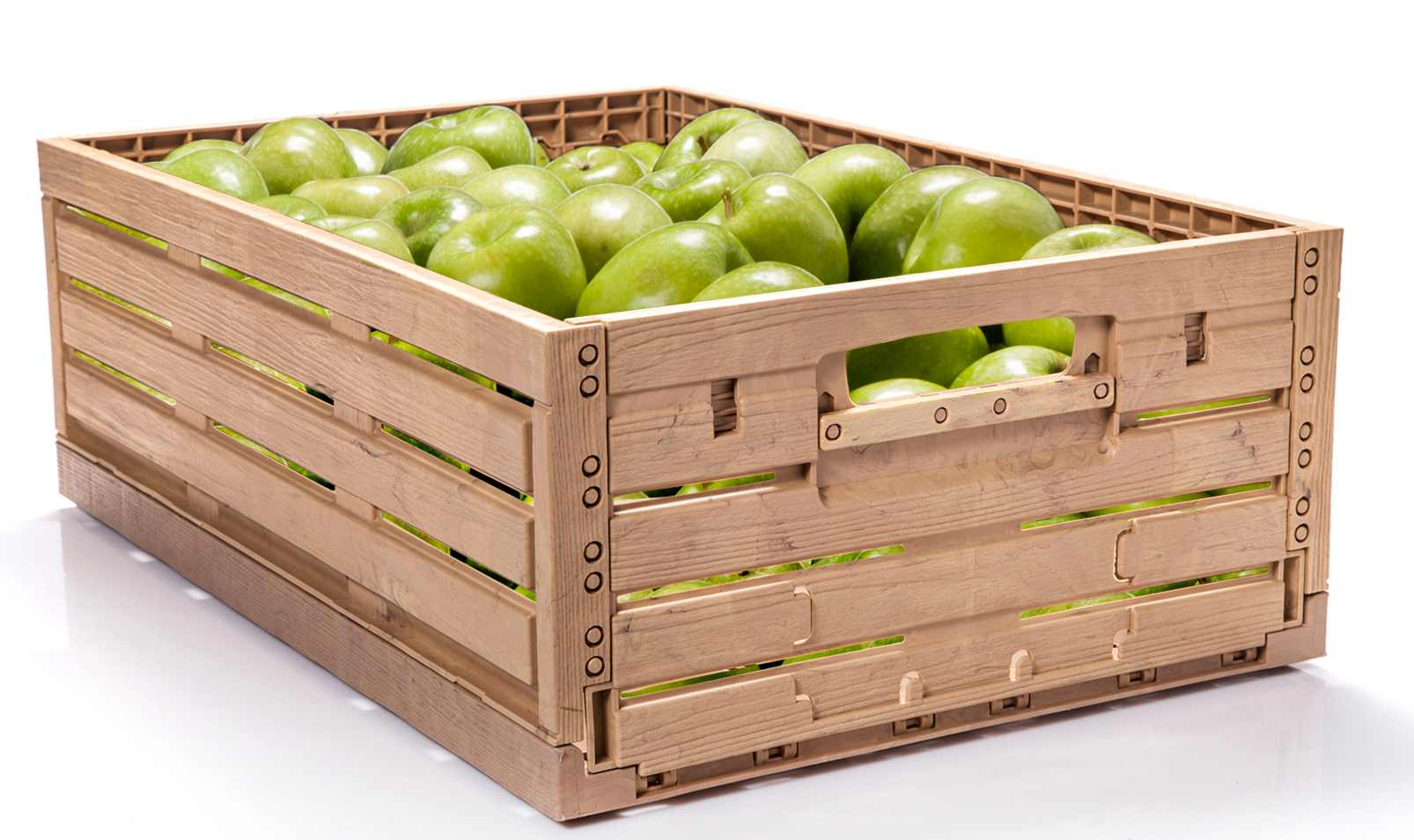 Le wood effect di polymer protagoniste a macfrut for Arredamento ortofrutta in legno