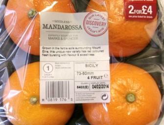 Uk, la clementina Mandarossa di Coa si aggiudica il Citrus Innovation Award