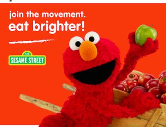 """USA: Muppets, multimedia marketing e Michelle Obama uniti per """"Eat Brighter!"""""""