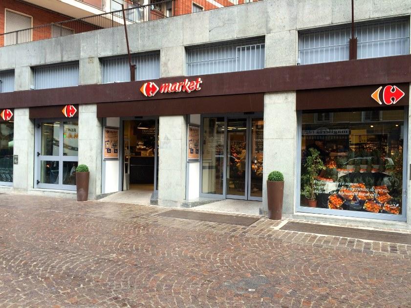 Carrefour Gramsci ingresso