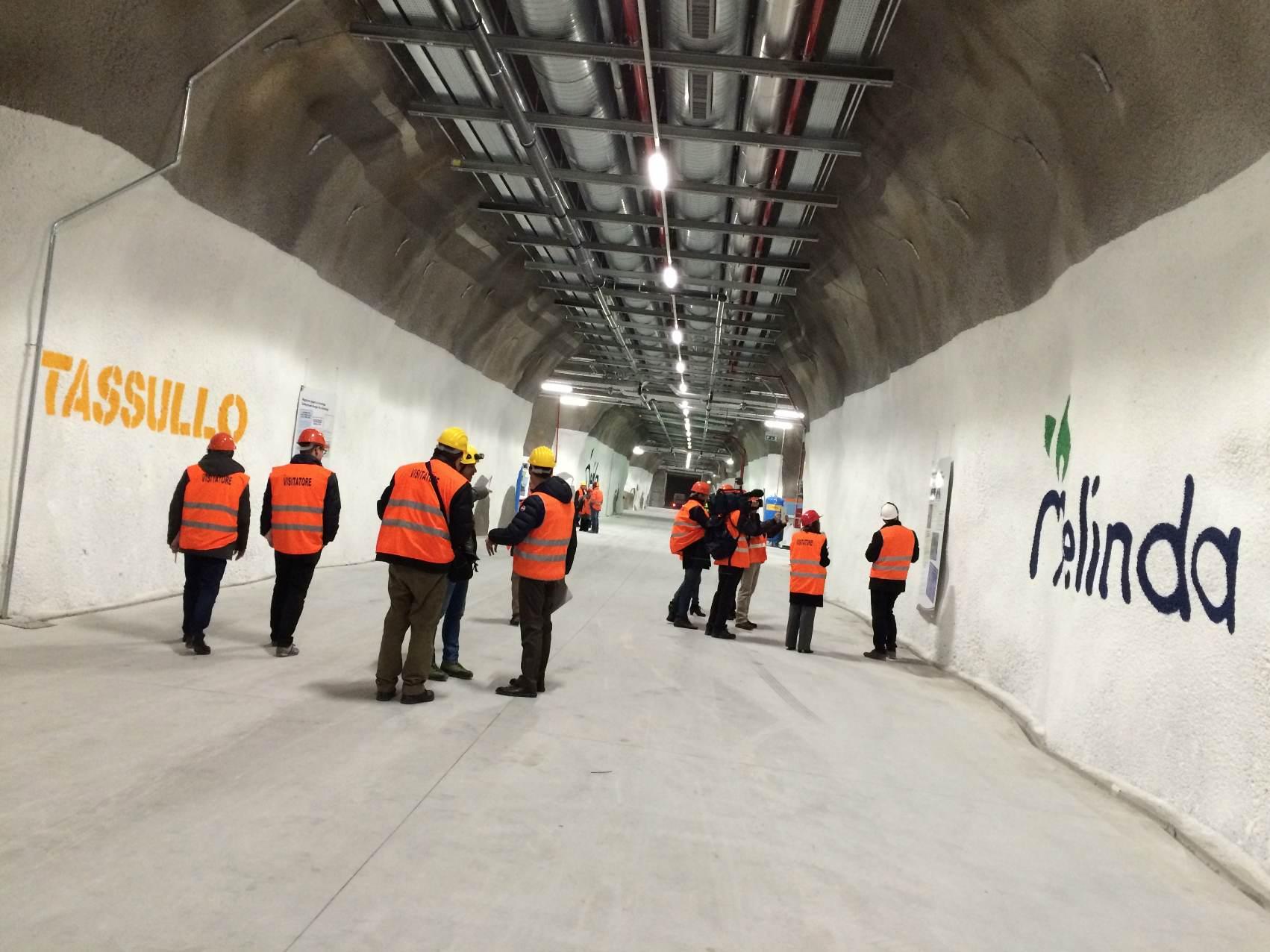 Melinda tunnel ipogeo