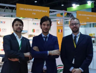 Apofruit, Alegra e Salvi alla fiera WOP di Dubai con il CSO