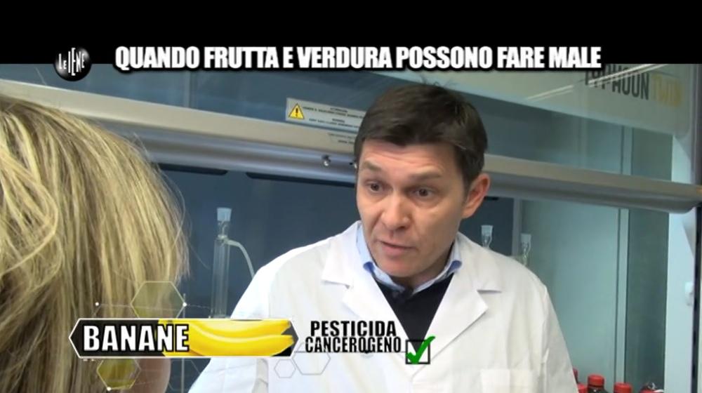 Le Iene banane cancerogene