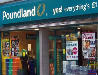 Si chiama Poundland l'ultra hard discount che sta conquistando il Regno Unito