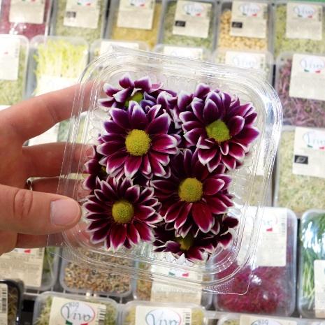 Frammenti da fruit innovation le principali novit di for Fiori edibili