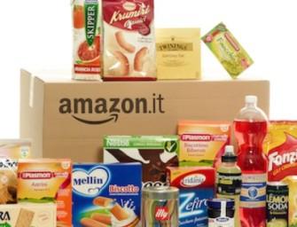 Amazon apre anche in Italia un negozio online: alimentari e cura della casa