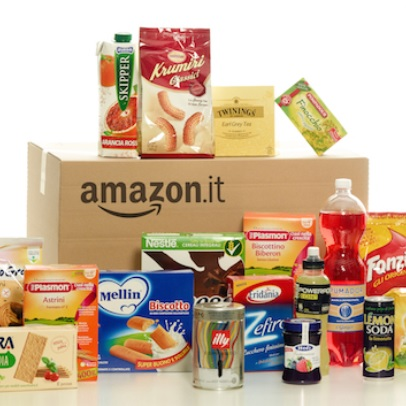 best website 2be12 a363b Amazon apre anche in Italia un negozio online: alimentari e ...