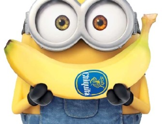 """Chiquita partner del film """"minions"""" con il concorso che mette in palio New york"""