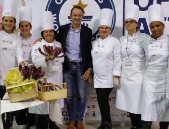 Expo, Radicchio di Treviso protagonista con la torta più grande del mondo