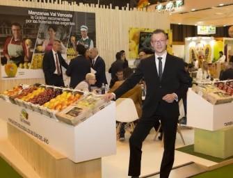 """Mela Val Venosta a Madrid: """"Metà delle nostre mele sono destinate all'estero"""""""