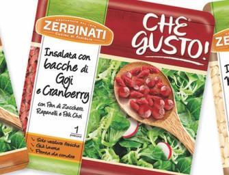 """Zerbinati a Marca con le insalate pronte """"Che Gusto"""" ideate dal masterchef Ferrero"""
