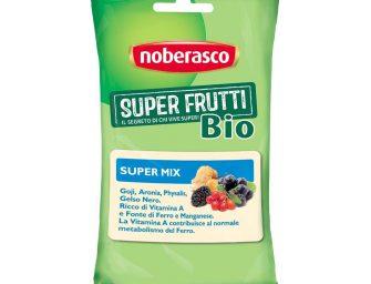 I Super Frutti Noberasco sono anche bio. Snack formato pocket