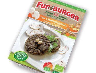 Nuova Amaglio Fungorobica a Macfrut con il nuovo FunBurger
