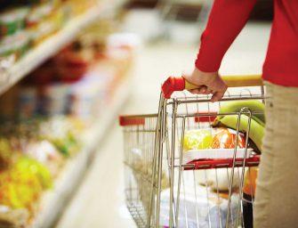 Largo consumo, in Italia vendite food +2,3% a valore nel primo quadrimestre. Previsione +1,5% a fine 2019
