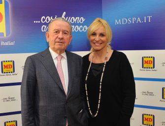 Antonella Clerici testimonial di MD: ecco il futuro del discount italiano