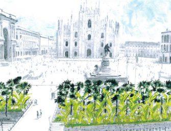 Banani nel cuore di Milano? Starbucks porta il verde esotico in Piazza Duomo