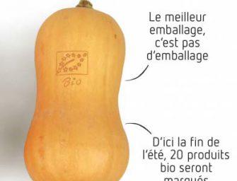 """Bio marchiato a laser per Delhaize: in Europa avanza il """"natural branding"""""""