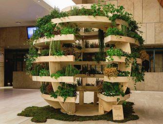 Ikea, arriva The Growroom, l'orto sferico fai-da-te per ortaggi a Km zero