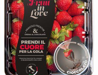 Apo Scaligera innova con le fragole con cioccolato della linea Fruit in Love