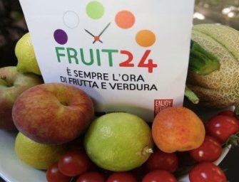 FRUIT24!, novità in arrivo per il progetto che promuove più frutta e verdura