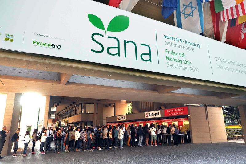 Sana 2017, il biologico in mostra a Bologna