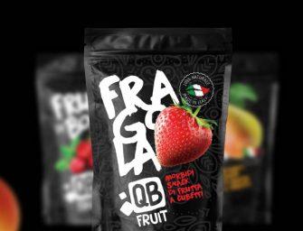 Gli snack di frutta QB Fruit arrivano nelle avancasse di Esselunga