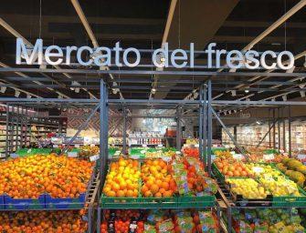 Nuovo SuperPan a Oristano: isola dei freschi al centro, come in un mercato