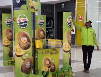 Kiwi Zespri SunGold in tour promozionale nei pdv Aspiag Service: vendite triplicate