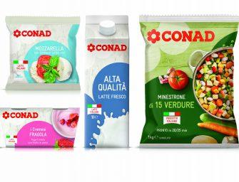 Conad, restyling della private label e posizionamento ancora più leader