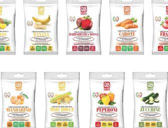 Snack di frutta e ortaggi liofilizzati? QB Crock, 14 referenze 100% naturali