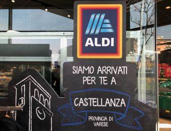 Aldi Italia, il 1 marzo apre 10 punti vendita e fa sul serio