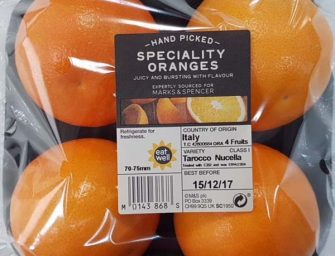Marks&Spencer premia Oranfrizer per l'innovazione a Fruit Logistica