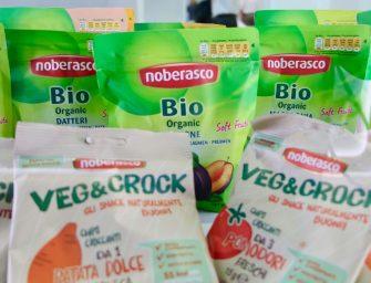 Noberasco sul podio al Food Match con Veg&Crock, le chips di ortaggi 100% naturali