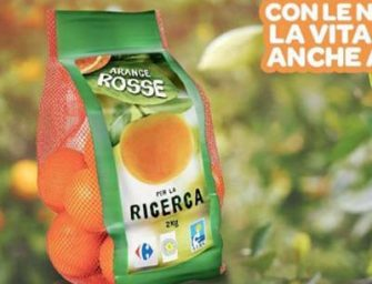 Arance della Ricerca: ad AIRC oltre 40 mila euro da Carrefour Italia e FDAI