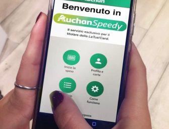 AuchanSpeedy: niente code, basta uno smartphone. Entro fine 2018 in 50 pdv
