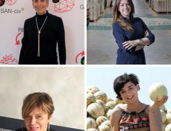 Salvi, Minguzzi, Nadalini, Borghi: parlano le donne dell'ortofrutta