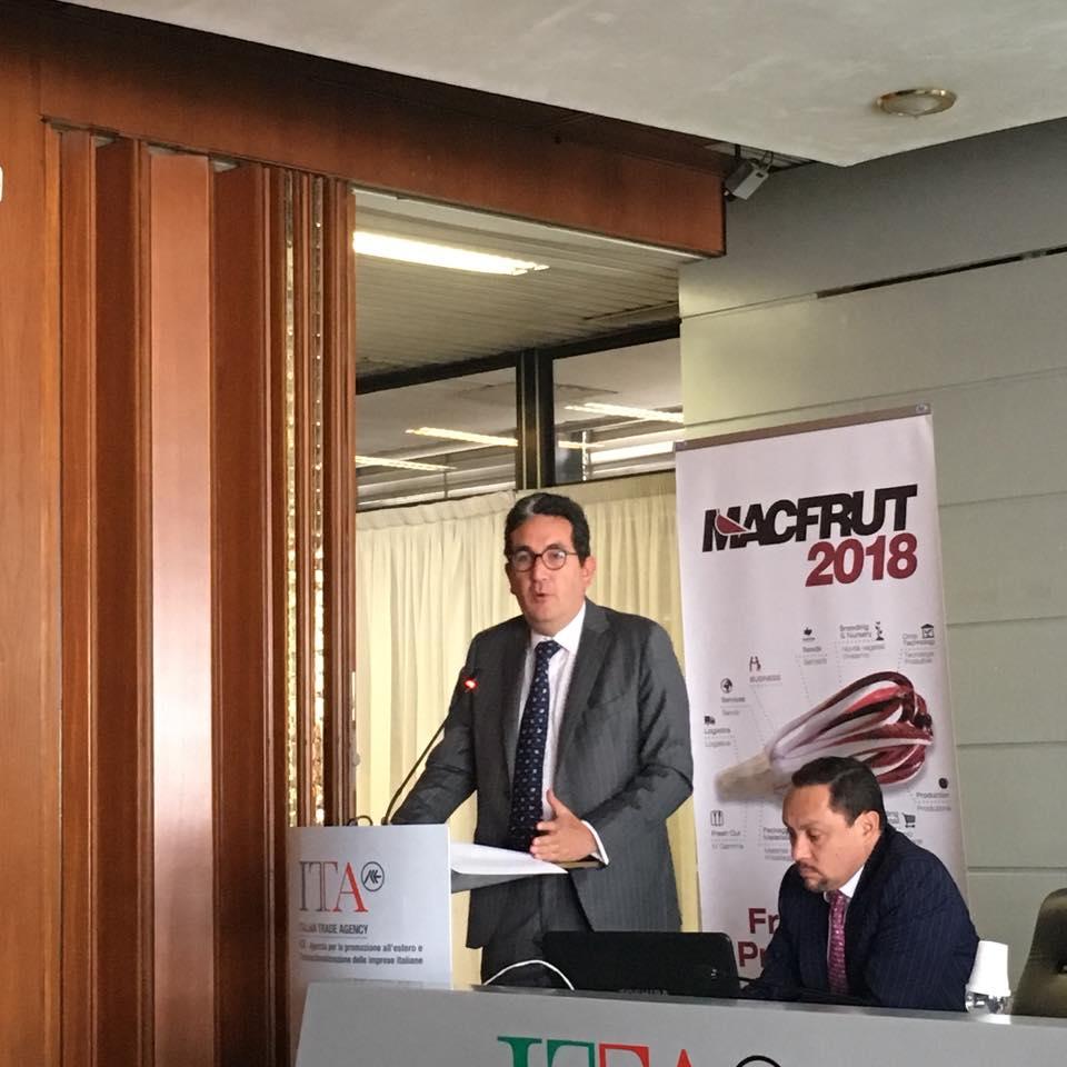 Macfrut ambasciatore Colombia