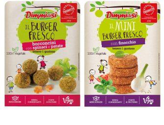 Burger Freschi DimmidiSì: novità nelle linee, nei packaging e nei formati