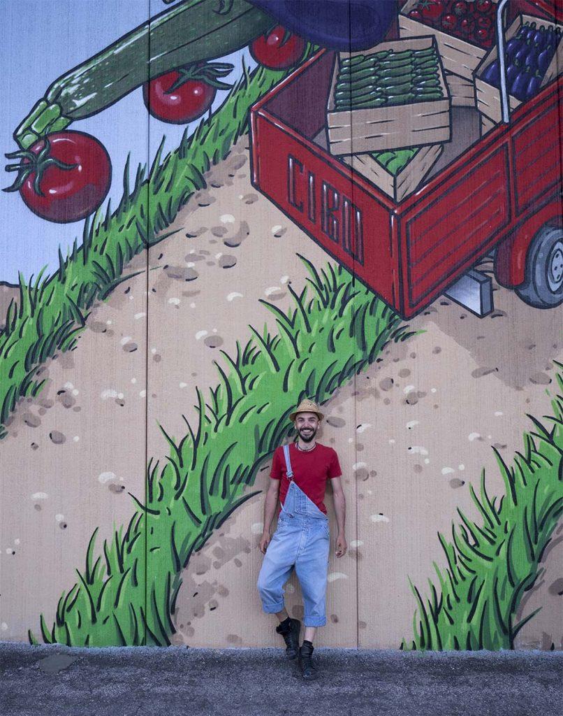 Apo Scaligera murales Cibo