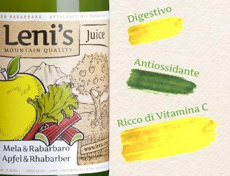 Leni's, presentate a Cibus 2018 le novità: succo di mela bio e con rabarbaro