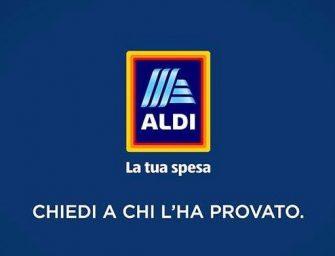 """ALDI in tv e sul web con la nuova campagna """"Chiedi a chi l'ha provato"""""""